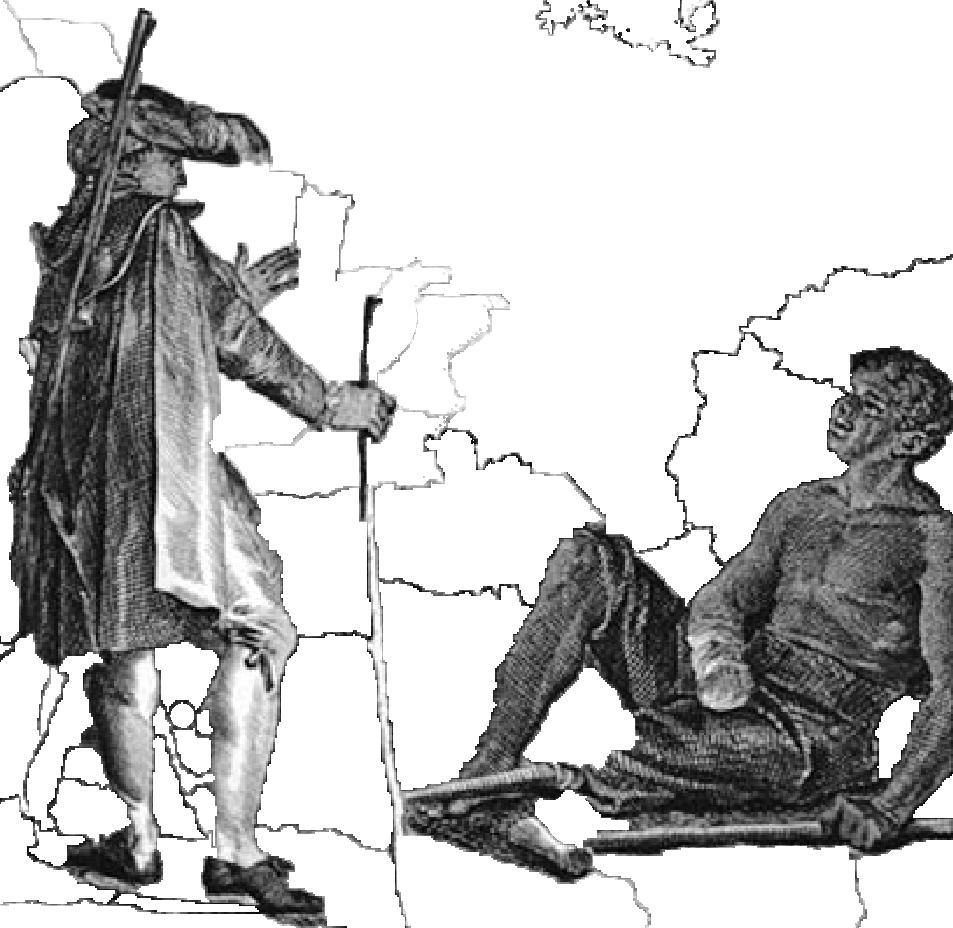 Candide meets a slave mutil